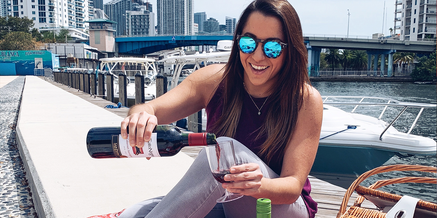 Miami Influencer and Foodie ANdrea Greico